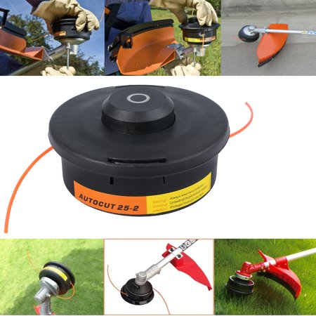 ESYNIC Nylon Line String Trimmer Spools String Bump Weed Eater Trimmer Head Replacement Weed Trimmer Head String Bump Head Twister