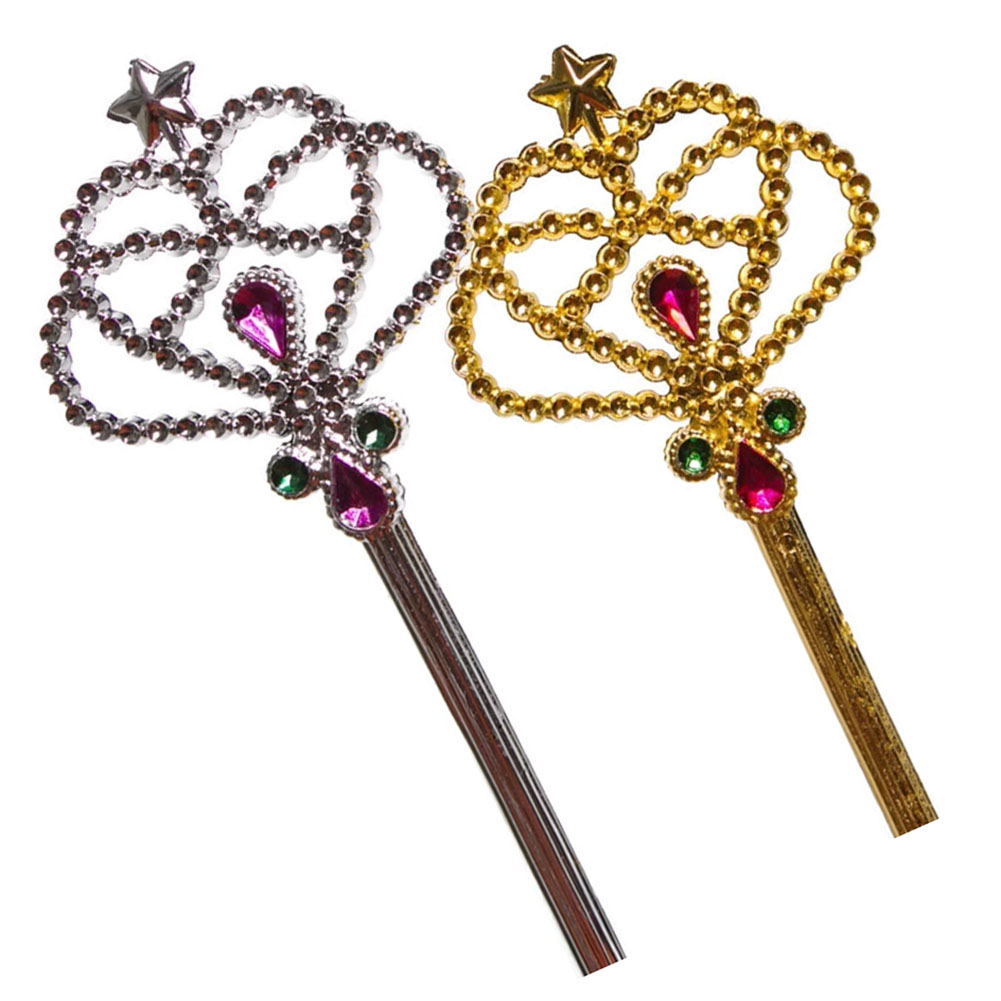 Jeweled Princess Wands