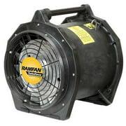 """16"""" Axial Explosion Proof Confined Space Fan, Black ,Ramfan, EFi75XX"""