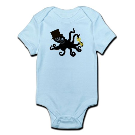 CafePress - Steampunk Octopus Body Suit - Baby Light Bodysuit (Steampunk Suit)