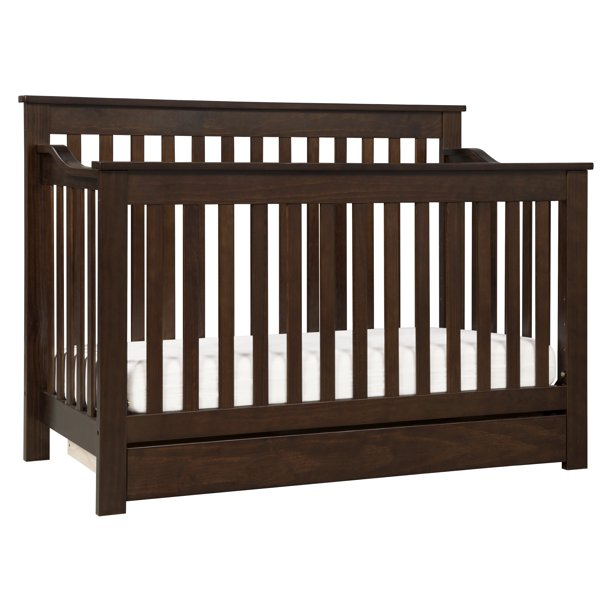 DaVinci Piedmont 4-in-1 Convertible Crib with Toddler Bed ...