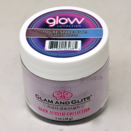 Glam and Glits GLOW ACRYLIC Glow in the Dark Nail Powder 2035