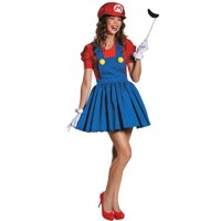 Mario Skirt Adult 4-6