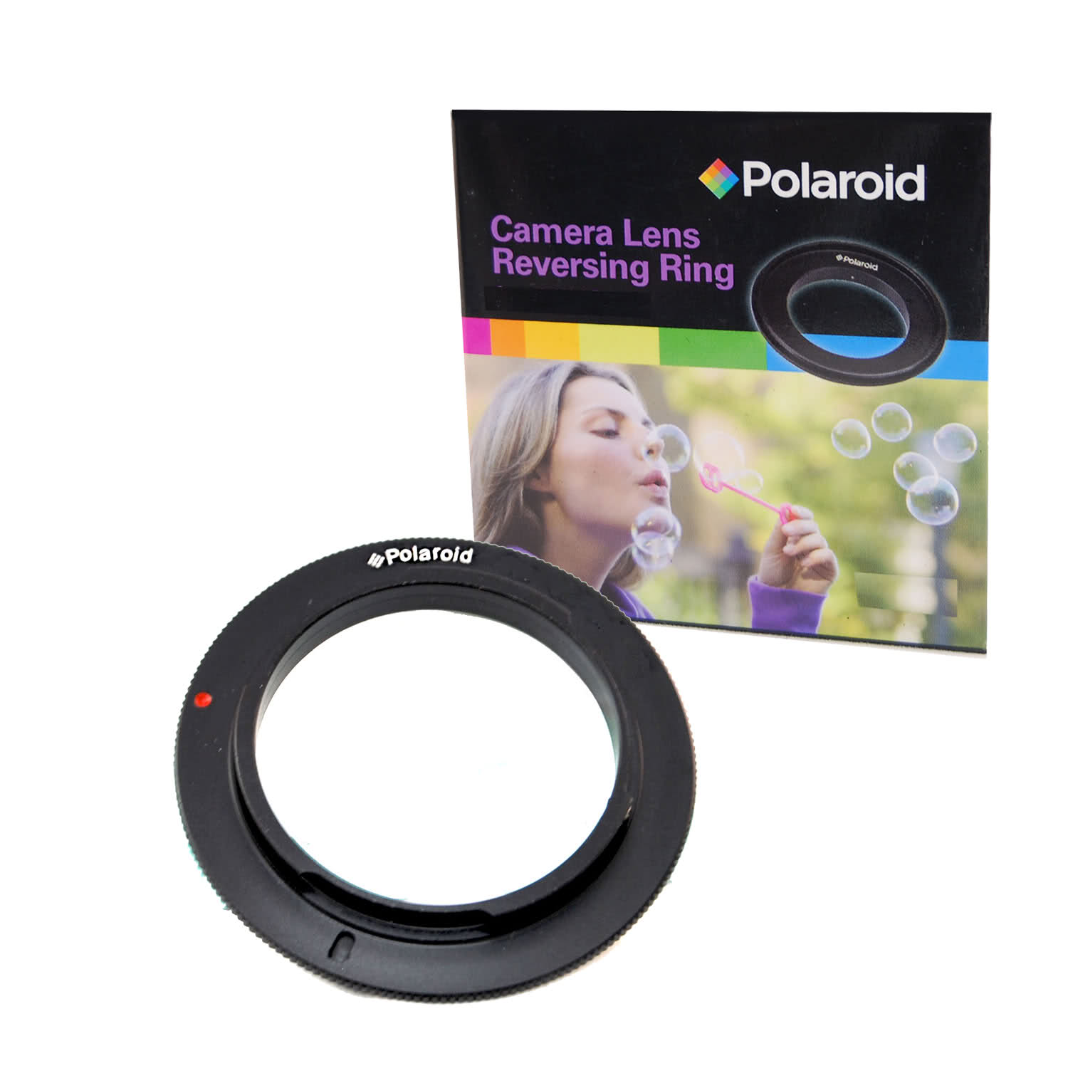 Polaroid 52mm Filter Thread Lens Macro Reverse Camera Mount Adapter For Canon