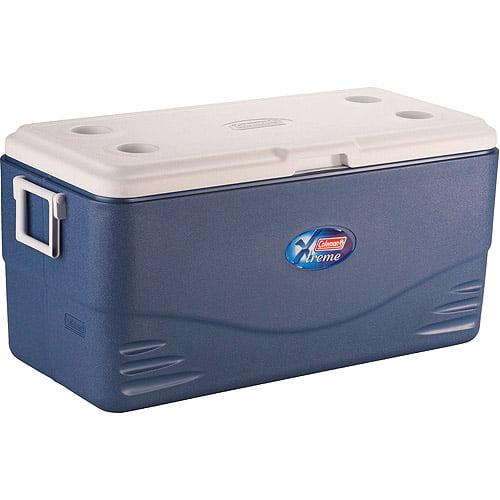 Coleman Xtreme 120-Quart Cooler, Iceberg Blue