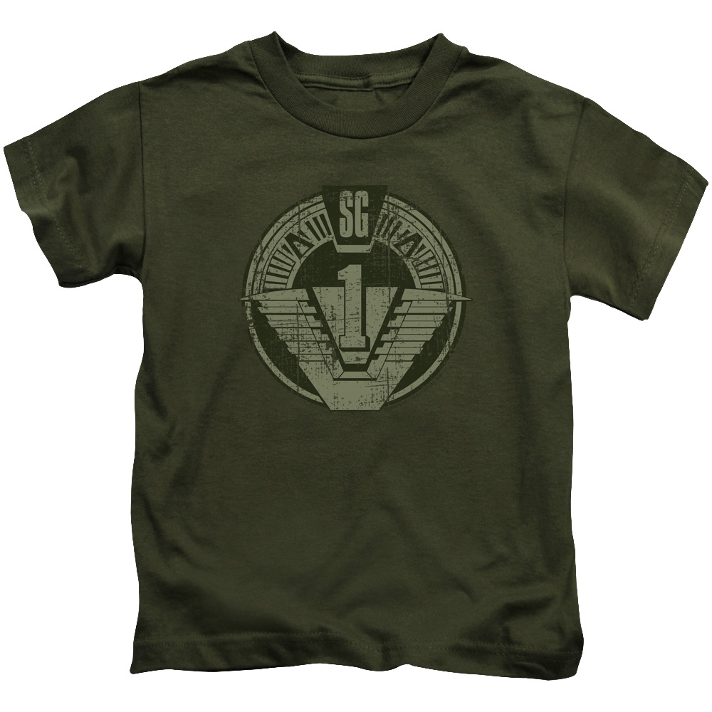 Stargate Sg1 Distressed Little Boys Shirt