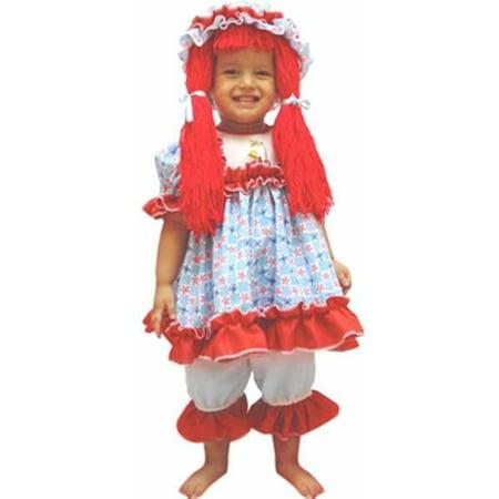Baby Deluxe Rag Doll Costume~Baby Deluxe Rag Doll Costume (Toddler Rag Doll Costume)