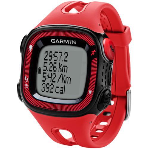 """Garmin Forerunner 15 Wrist Watch - 1.79"""" - 2.25"""" - Running, Cycling, Training (010-01241-01)"""
