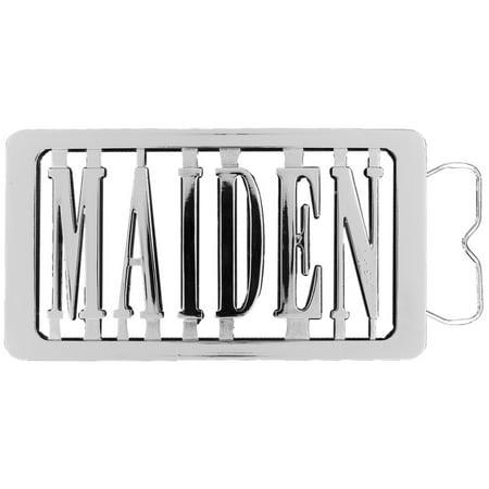 Iron Maiden - Logo Belt Buckle Iron Maiden Belt Buckle