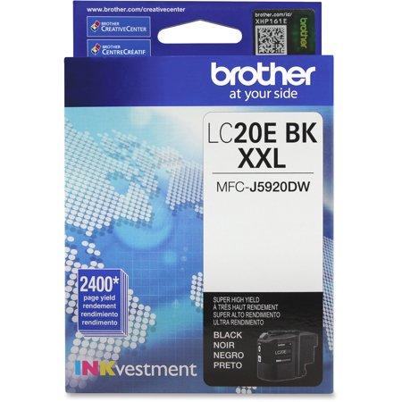 Black Super Balls.com (Brother LC20EBK INKvestment Super High-Yield Ink,)