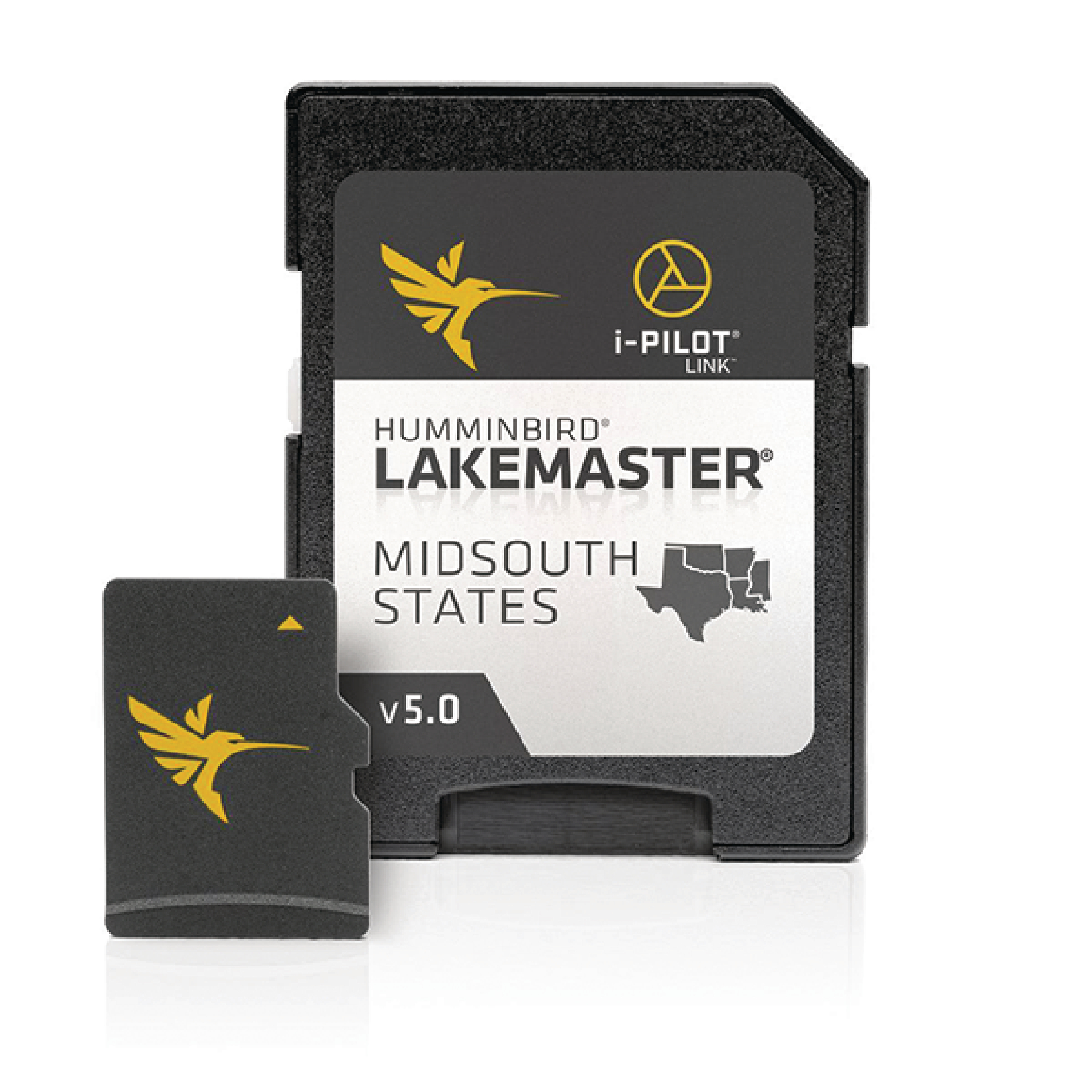 Humminbird 600009-9 Lakemaster Version 5 Chart Card - Mid-South Edition