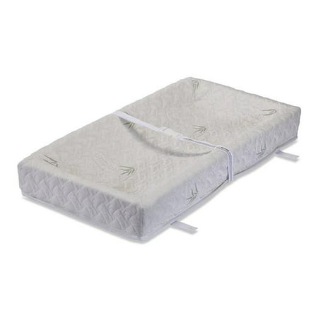 32 In 4 Sided Changing Pad With Blended Viscose Bamboo