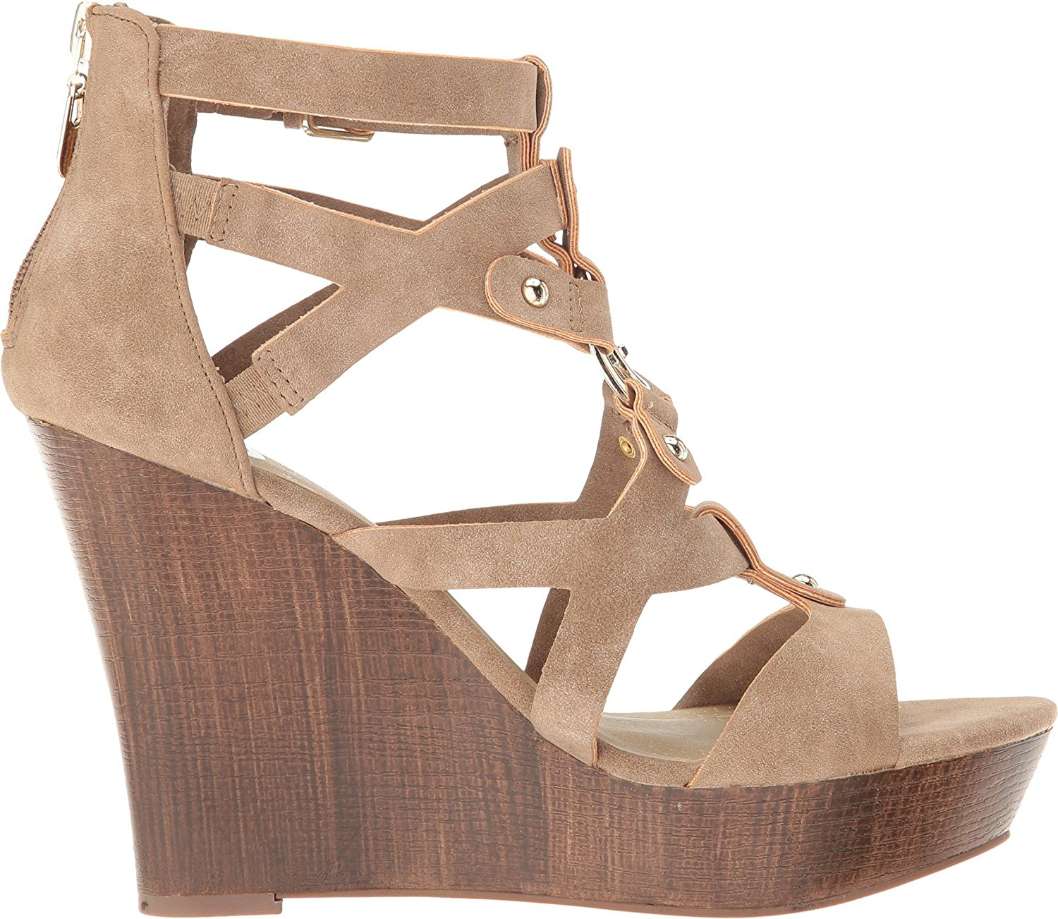 f3a86dcf9 G by Guess - G by Guess Womens Dodge Open Toe Casual Platform Sandals -  Walmart.com