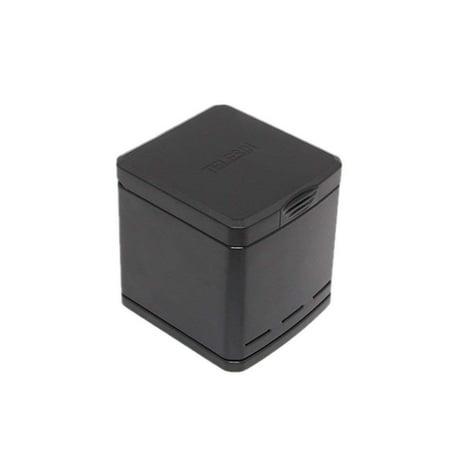 - TELESIN Triple Charger&Battery Storage Box for GoPro Hero 6 GoPro Hero 5,3 Channel Charging Box Batteries Organizer for Hero 6 / 5 Black Batteries