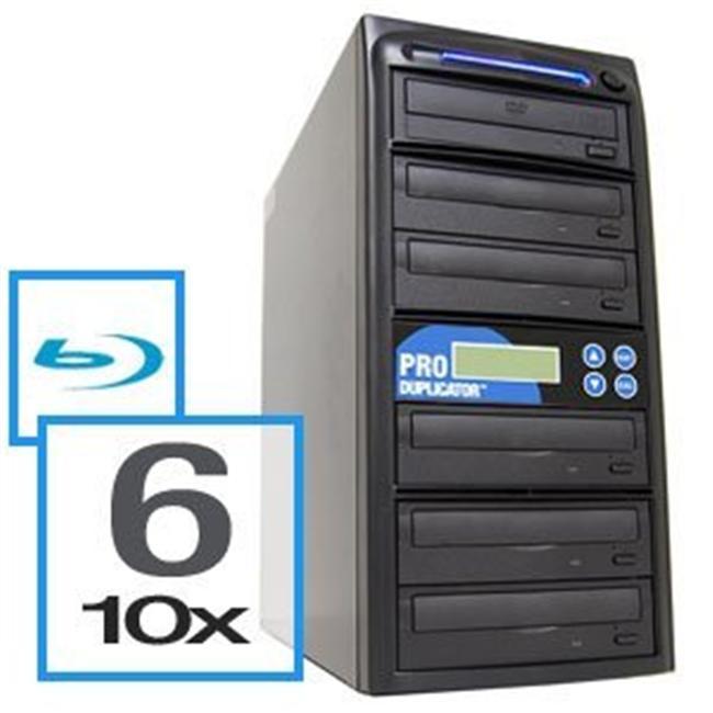 Produplicator A6BR10X500G 6 Blu-Ray Drive BD-CD-DVD Duplicator Plus Built-In 500GB HDD Plus USB Connection