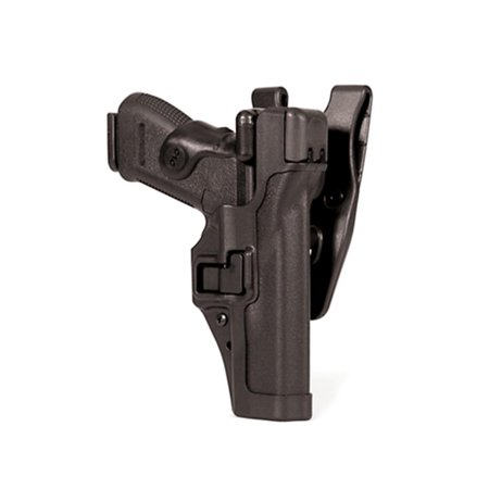 BLACKHAWK! Serpa Level 3 44H125BK-L Holster Smith & Wesson M&P 9mm,0.40