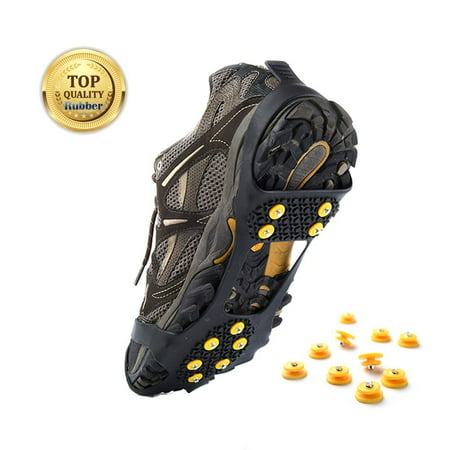 Ice and Snow Traction Cleats Slip-on Stretch for Snow Ice Spikes Crampons