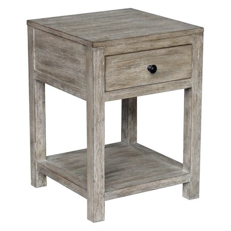 Accentrics Home Reclaimed Wood Side Table ()