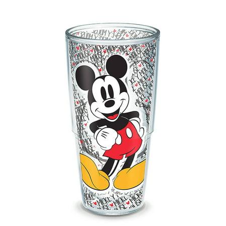 24oz Tervis Disney Mickey Mouse Name Pattern Tumbler