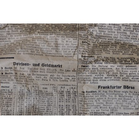 LAMINATED POSTER Paper Newsprint Newspaper Daily Newspaper Pressure Poster Print 24 x -