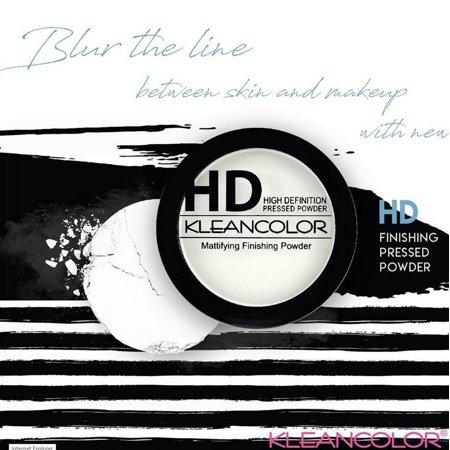 LWS LA Wholesale Store  NEW Kleancolor HD Powder TRANSLUCENT Matte Finishing Setting Powder Makeup 8g (Wholesale Make Up)