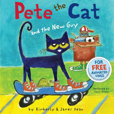 Pete the Cat and the New Guy - Audiobook