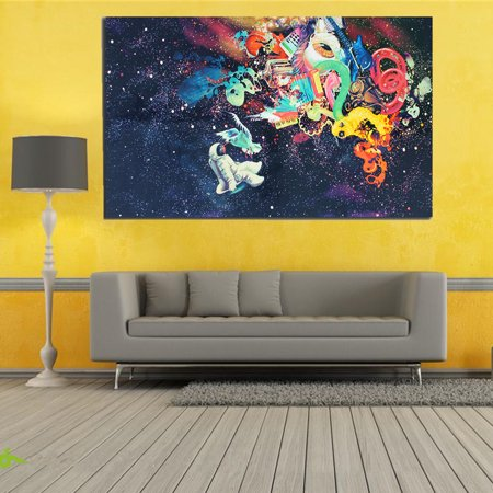 Psychedelic Trippy Art Silk Poster Print Pictures On Fabric Modern ...