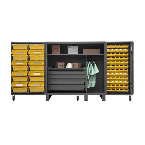 Durham Manufacturing 60'' H x 36'' W x 24'' D Lockable Cabinet
