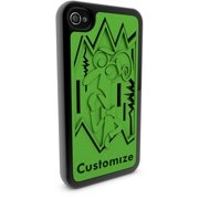 Apple iPhone 4 and 4S 3D Printed Custom Phone Case - Disney/Pixar Inside Out - Fear
