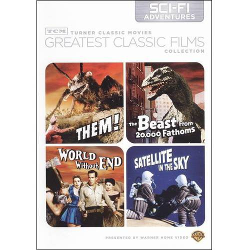 TCM Greatest Classic Films Collection: Sci-Fi Adventures - Them! / The Beast From 20,000 Fathoms / World Without End / Satellite In The Sky (Full Frame, Widescreen)