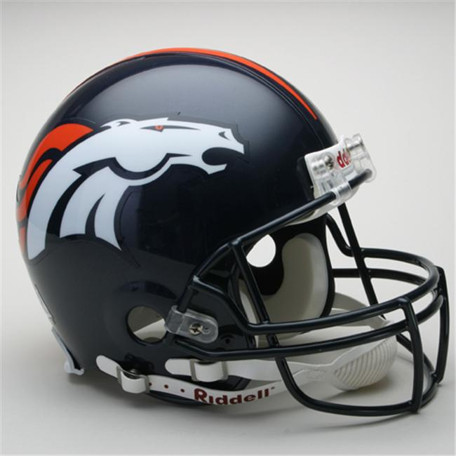 Creative Sports RD-BRONCOS-A Denver Broncos Riddell Full Size Authentic Proline Football Helmet