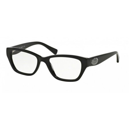 Coach HC6070-5002 Cats Eye Women\'s Black Frame Genuine Eyeglasses ...