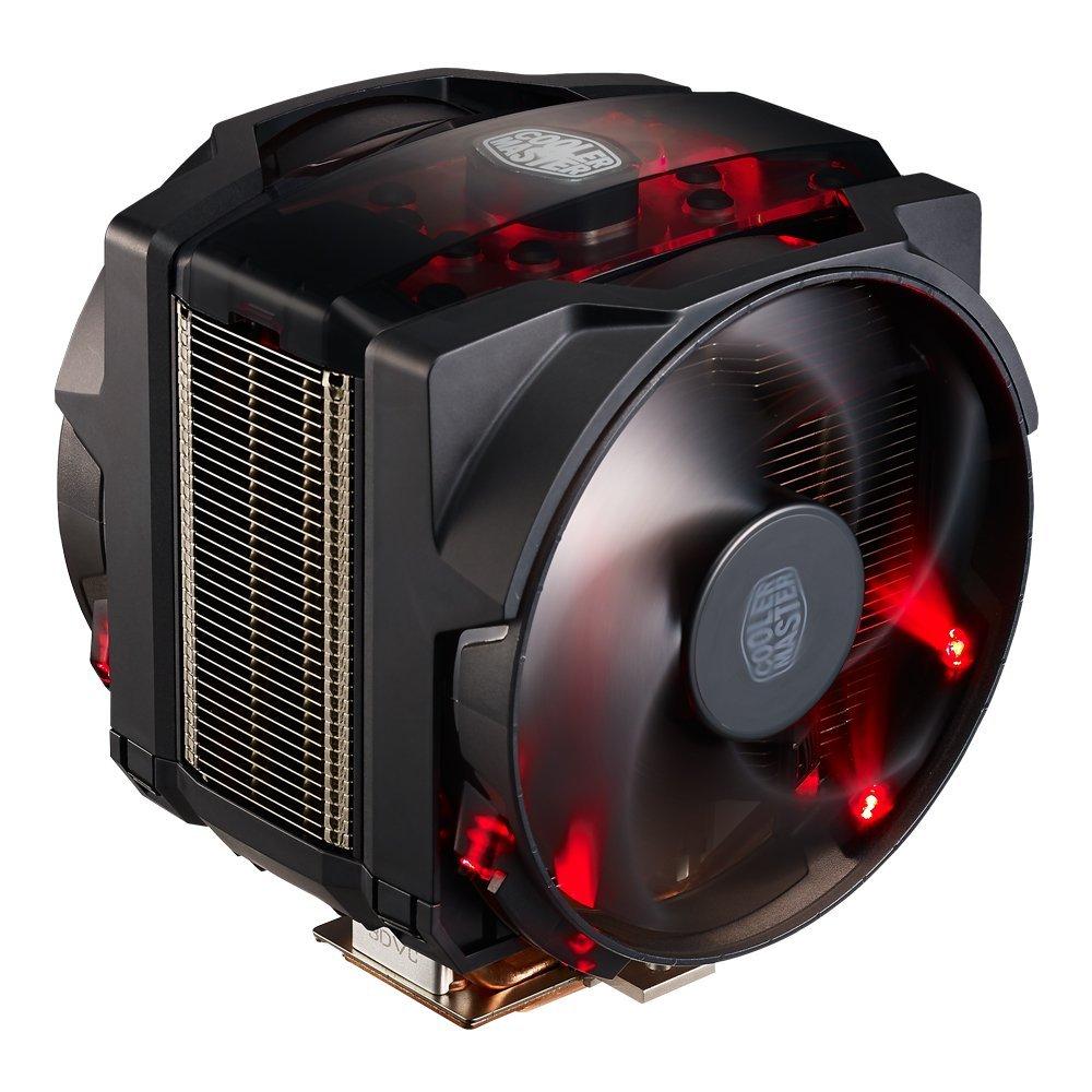 MasterAir Maker 8 High-end CPU Air Cooler. Featuring 3D Vapor Chamber Technology and Customizable Cover Designs (MAZ-T8PN-418PR-R1)