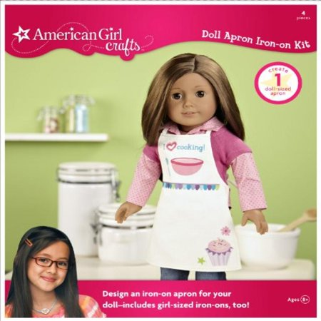 American Girl Crafts Doll Iron-on Kit, Apron American Girl Doll Crafts