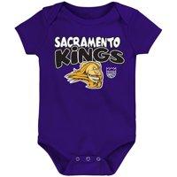 Sacramento Kings Infant Bubble Letter Bodysuit - Purple