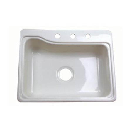 Sink Cover for Double Bowl - Parchment 3322 Swanstone Classics Double Bowl