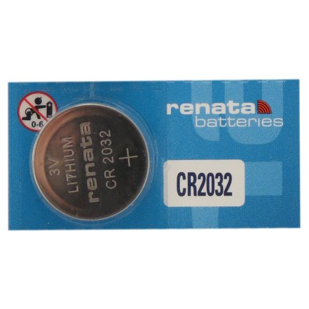 10 x CR2032 Renata Lithium 3 Volt Lithium Coin Cell Batteries - image 1 de 1