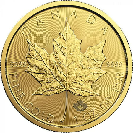 2019 1 oz Canadian Gold Maple Leaf Coin BU - Gold Washington Coin Set