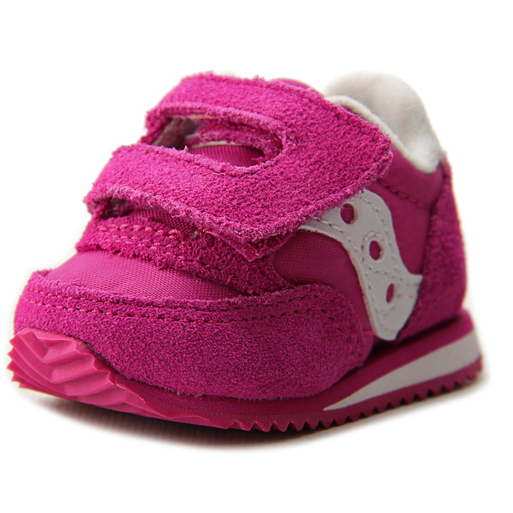 Saucony Baby Jazz Crib   Round Toe Leather  Sneakers