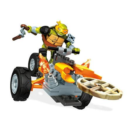 Mega Construx Teenage Mutant Ninja Turtles Mikey Stealth Building (Stealth Jam Block)
