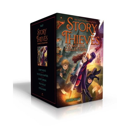 Story Thieves Complete Collection : Story Thieves; The Stolen Chapters; Secret Origins; Pick the Plot; Worlds