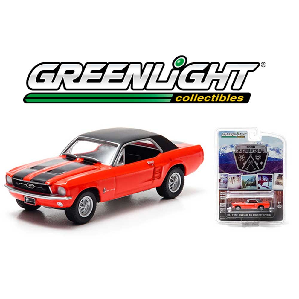 1967 Ford Mustang Convertible High Country Special *** Greenlight Hobby 1:64 NEU