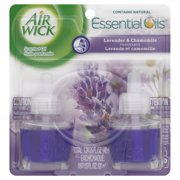 Air Wick Scented Oil Air Freshener, Lavender and Chamomile, Twin Refills, 0.67 Ounce