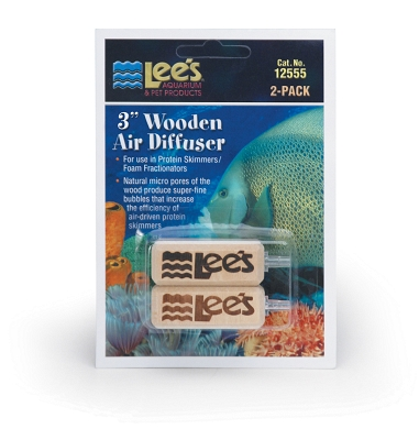 Lee's Wooden Air Diffuser, 3 Inch, 2/Blister Card