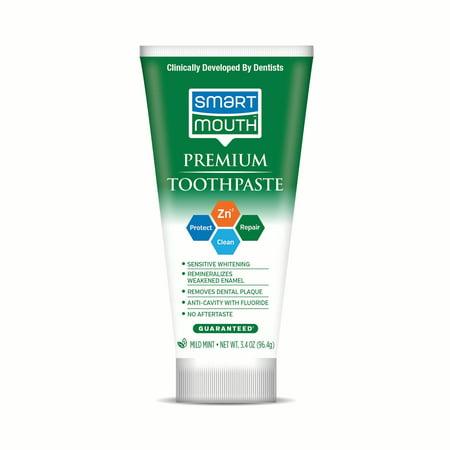 SmartMouth Premium Toothpaste – 3.4oz