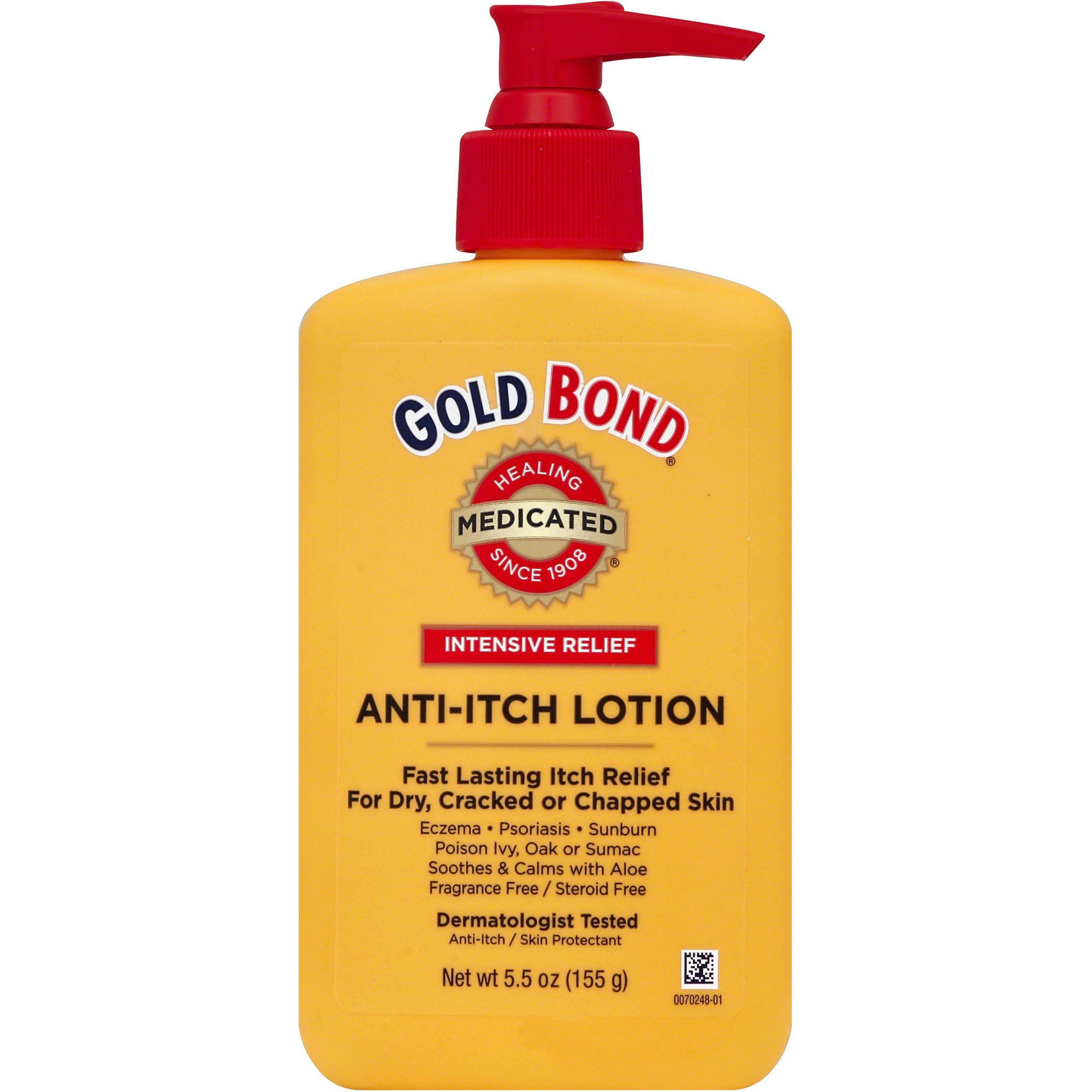Gold bond medicated anti itch lotion 5 5 oz walmart com