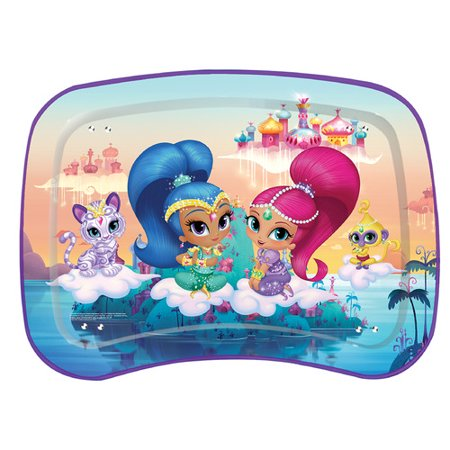 Kids' Snack and Play Tray, Shimmer and Shine