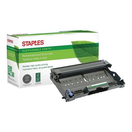 Staples Remanufactured Laser Drum Unit Brother DR350 (DR-350) Black 791226