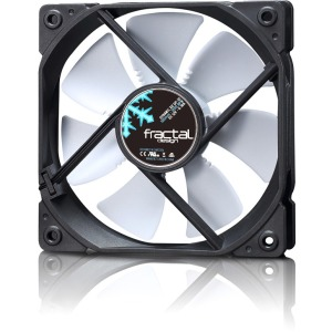 Dynamic X2 120mm PMW White Case Fan