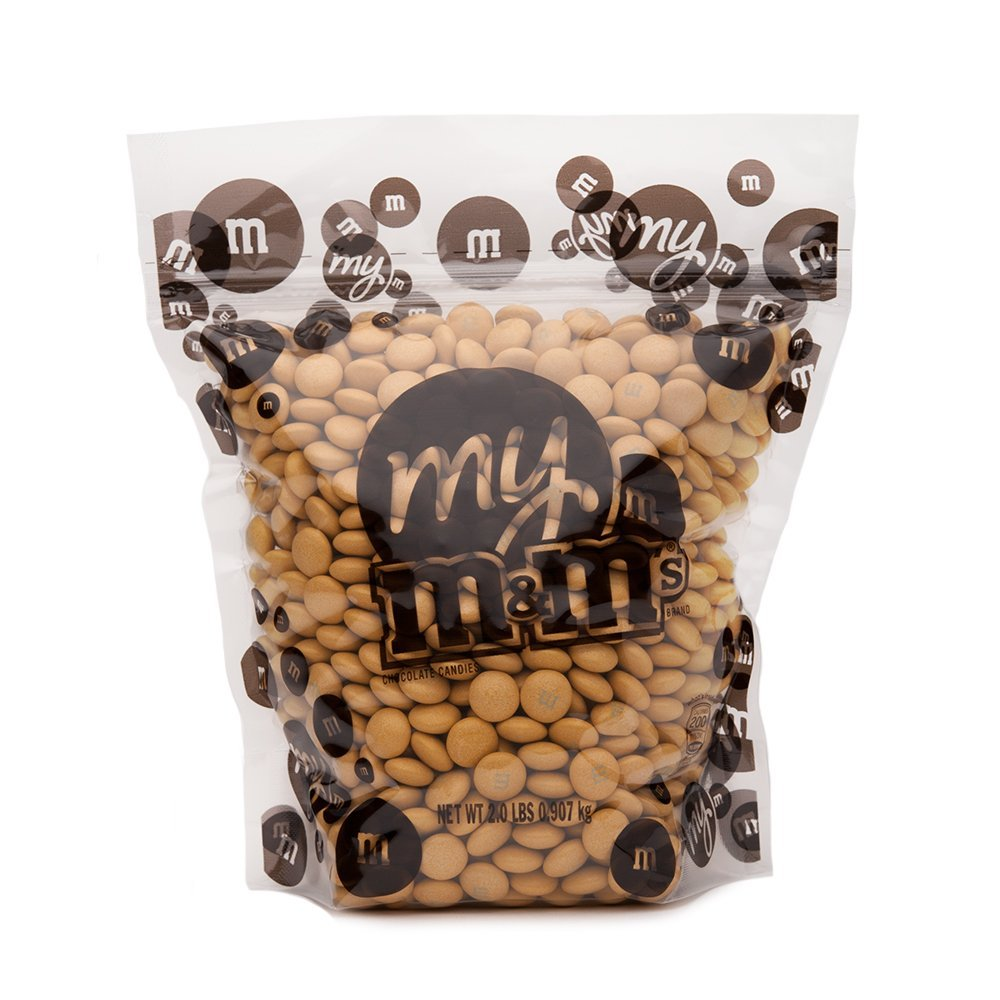 Golden M&M'S Bulk Candy Bag (2lb)